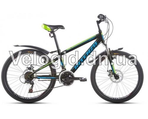 Велосипед Intenzo Energy 24 Disk зеленый