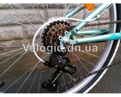 Велосипед Novatrack Alice 24 Blue