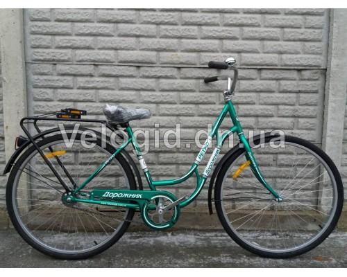 """Велосипед Дорожник Ретро 28"""" Зеленый"""