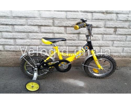 """Детский велосипед  Profi желтый 12"""" Б/у"""