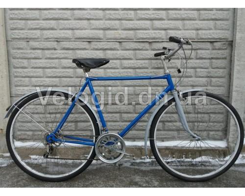 Велосипед спортивный Турист Синий