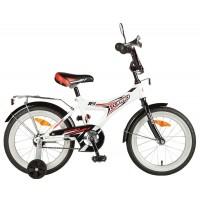 Детский велосипед Novatrack Turbo 16 Белый