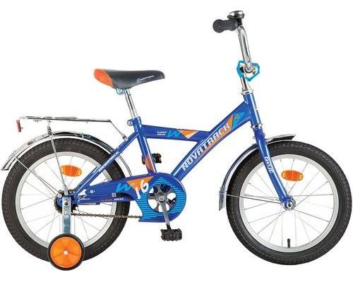 """Детский велосипед Novatrack Twist 16"""" Синий"""