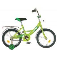"""Детский велосипед Novatrack Vector 16"""" Зеленый"""