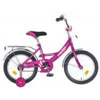 """Детский велосипед Novatrack Vector 16"""" Сиреневый"""