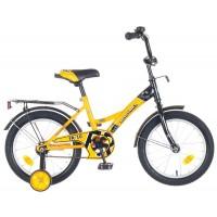 """Детский велосипед Novatrack FR10 18"""" Желтый"""