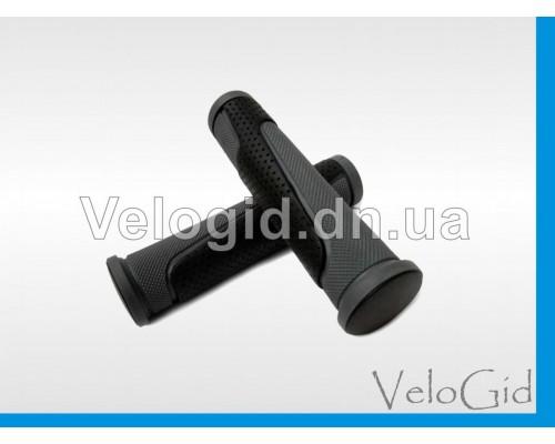 Грипсы (ручки на руль) резиновые Avanti черные