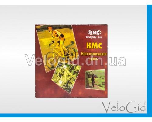 Велосипедная цепь KMC Z51 8 скоростей