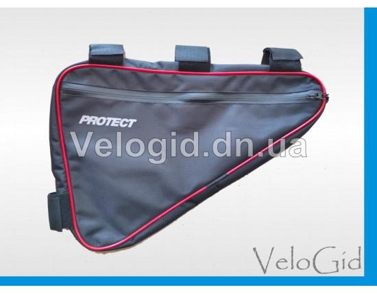 Велосумка Protect подрамная задняя Big